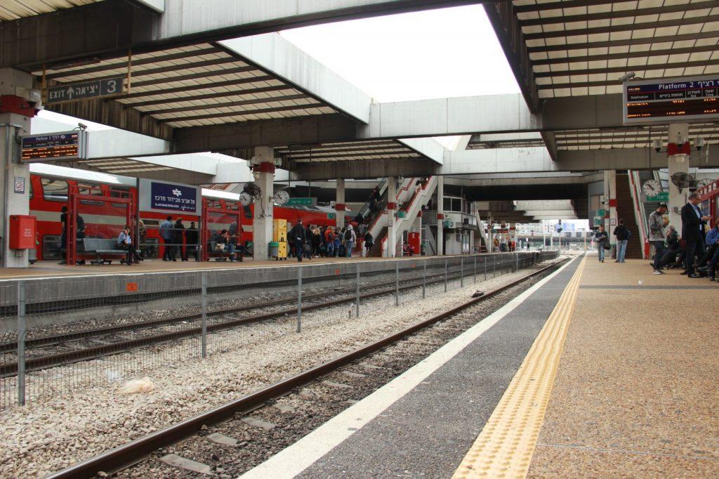 צילום של תחנת רכבת