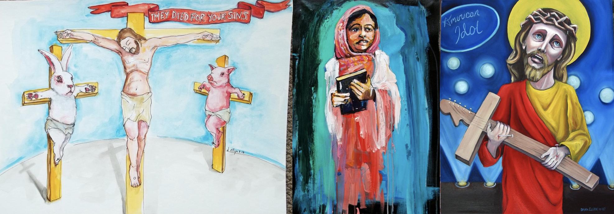 ״אמריקן איידול״. ״שימור״. ״הם מתים בשבילך״. (מימין לשמאל)